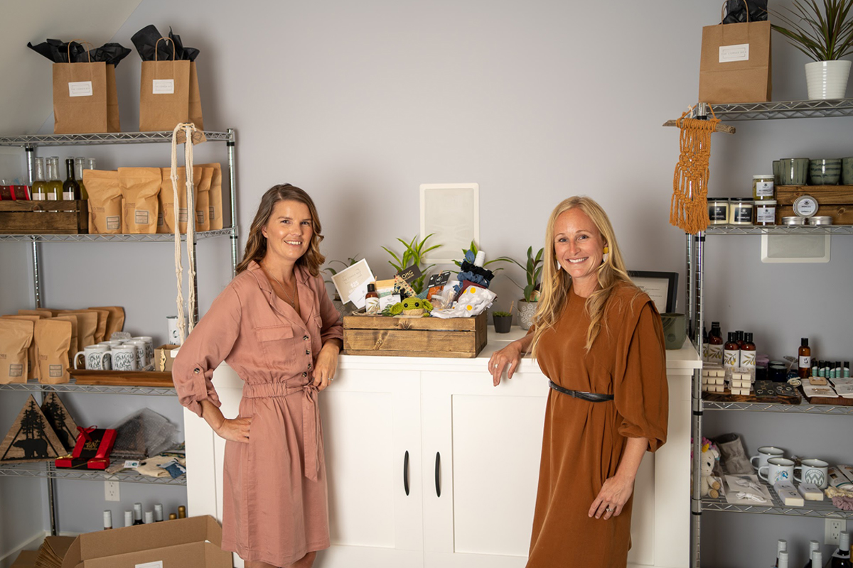 Voss Babe Female Entrepreneur Series - Tara and Sonia, Owners of The Comox Box