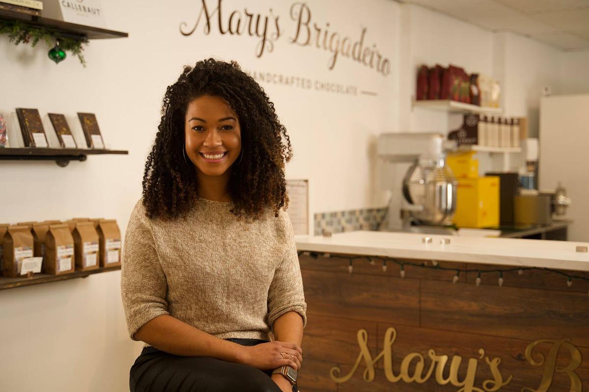 Voss Babe Female Entrepreneur Series - Mariane Oliveira, Owner of Mary's Brigadeiro
